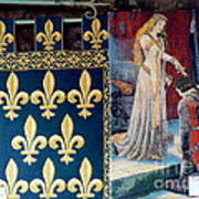 Medieval Tapestry Art Print by France  Art