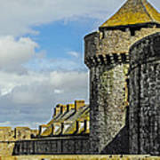 Medieval Towers Art Print