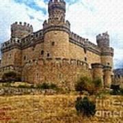 Medievel Castle Art Print
