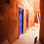 Medina Of Marrakesh Art Print