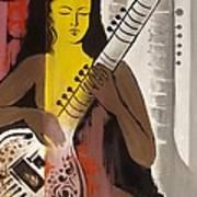 Meditation With Music  Art Print