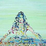 Meditation Blues Art Print