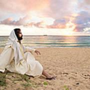 Meditation Of Christ Art Print