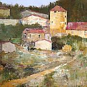 Mediterranean Farm Art Print