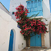 Mediterranean House Art Print