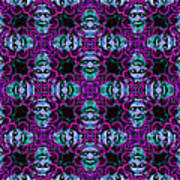 Medusa Abstract 20130131m180 Art Print by Wingsdomain Art and Photography