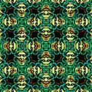 Medusa Abstract 20130131p38 Art Print