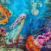 Medusa's Garden Art Print
