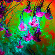 Medusas On Fire 5d24939 P128 Art Print by Wingsdomain Art and Photography