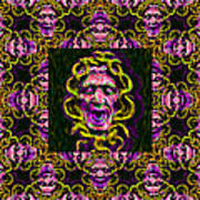 Medusa's Window 20130131m138 Art Print by Wingsdomain Art and Photography