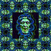 Medusa's Window 20130131p90 Art Print by Wingsdomain Art and Photography