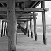 Meet Me Under The Pier. Art Print