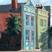 Meeting Street Charleston South Carolina Art Print