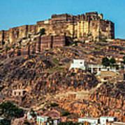 Mehrangarh Fort Art Print