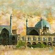 Meidan Emam Esfahan Art Print