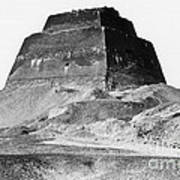 Meidum Pyramid, 1879 Art Print by Science Source