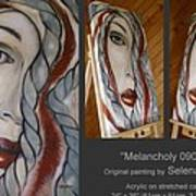 Melancholy 090409 Art Print