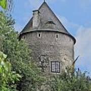 Melk Medieval Tower Art Print