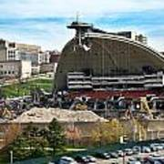 Mellon Arena Partially Deconstructed Art Print