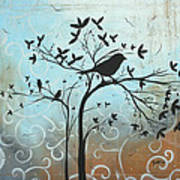 Melodic Dreams By Madart Art Print
