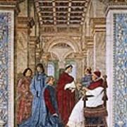 Melozzo Da Forli 1438-1494. Sixtus Iv Art Print