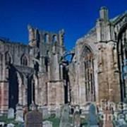 Melrose Abbey  Scotland Art Print