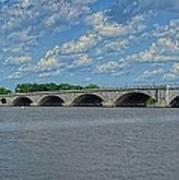 Memorial Bridge After The Storm Art Print
