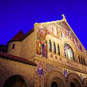 Memorial Church Stanford University Art Print