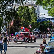 Memorial Day Parade In Grants Pass Art Print