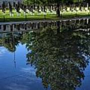 Memorial Reflecting Pool Art Print