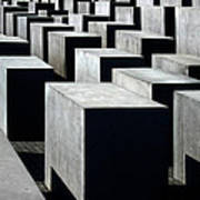 Memorial To The Murdered Jews Of Europe Art Print by RicardMN Photography