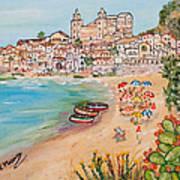 Memorie D'estate Art Print