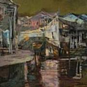 memory of hometown No.6 Art Print