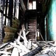 Memory Of Stairs Art Print