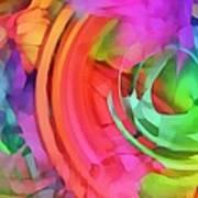 Memory Ribbons  Art Print