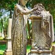 Memphis Elmwood Cemetery Monument - Cassie Hill Art Print