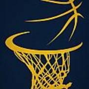 Memphis Grizzlies Hoop Art Print