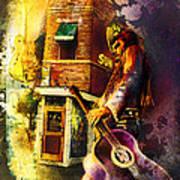 Memphis Nights 06 Madness Art Print