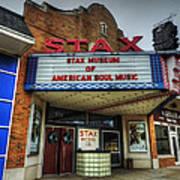 Memphis - Stax Records 001 Art Print