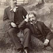 Men, 19th Century Art Print