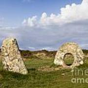 Men-an-tol Cornwall Print by Colin and Linda McKie