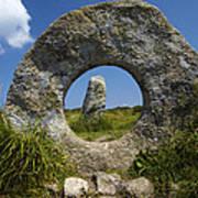 Men An Tol Neolithic Monument Art Print