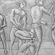 Men In Jail Art Print