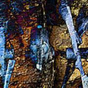 Menacing Teeth - Snow Thrower - Abstract Art Print