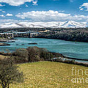 Menai Bridge 1819 Art Print