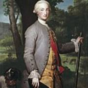 Mengs, Anton Raphael 1728-1779. Charles Art Print