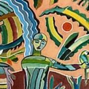 Menino Na Amazonia I Art Print
