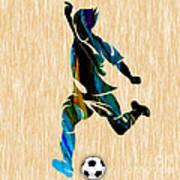 Mens Soccer Art Print