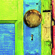 Mercado Door Art Print