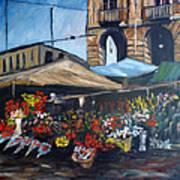 Mercato Porta Palazzo Art Print